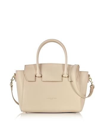 Lancaster Paris - Camelia Leather Satchel Bag w/Detachable Shoulder Strap