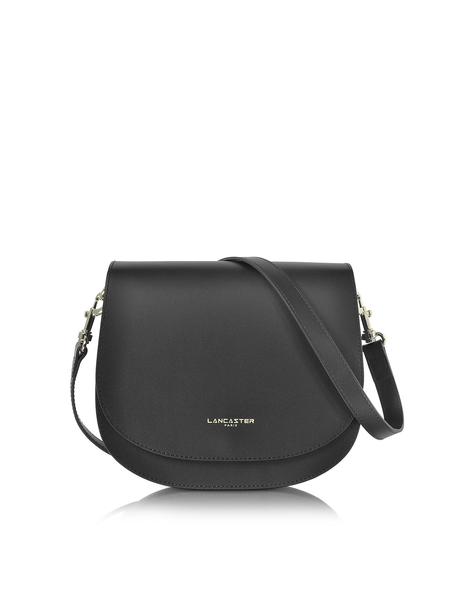 Lancaster Paris Designer Handbags, Camelia Leather Crossbody Bag (Luggage & Bags) photo