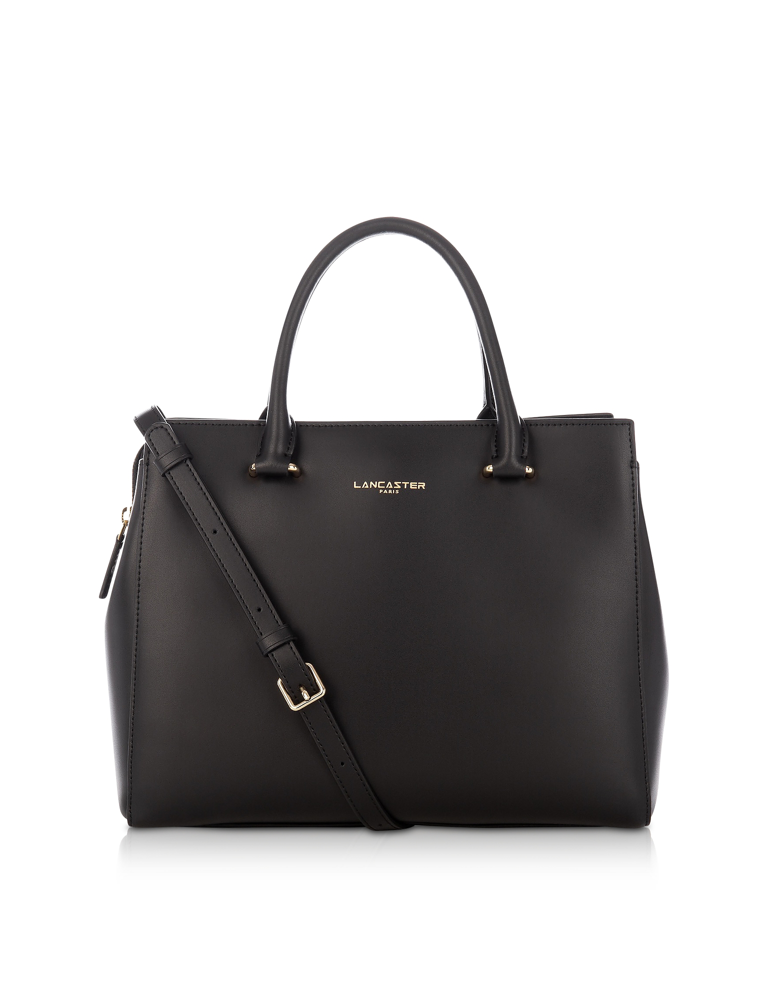 Lancaster Paris Handbags, Camelia Smooth Leather Top Handle Satchel Bag