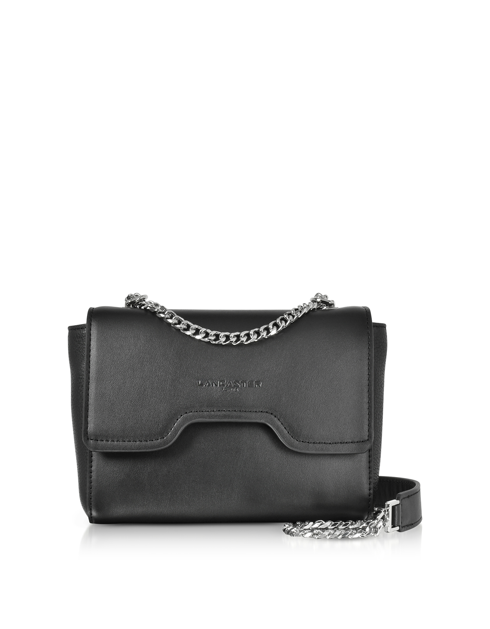 Lancaster Paris Handbags, Irene Smooth Leather Shoulder Bag
