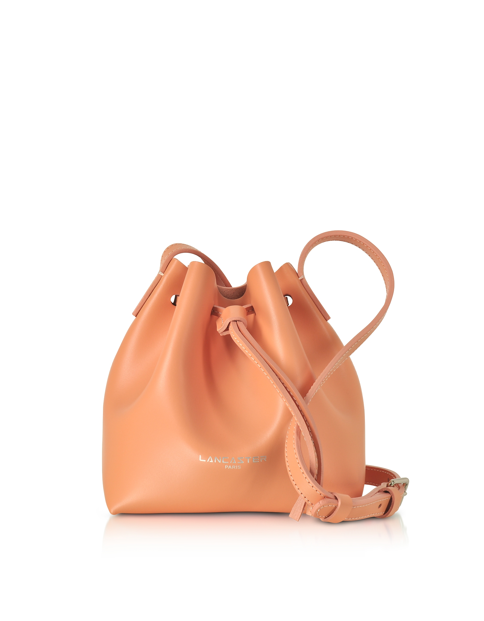 Lancaster Paris Handbags, Pur Smooth Leather Mini Bucket Bag