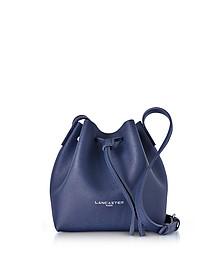 Pur & Element Saffiano Leather Mini Bucket Bag - Lancaster Paris