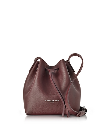 Lancaster Paris - Pur & Element Saffiano Leather Mini Bucket Bag