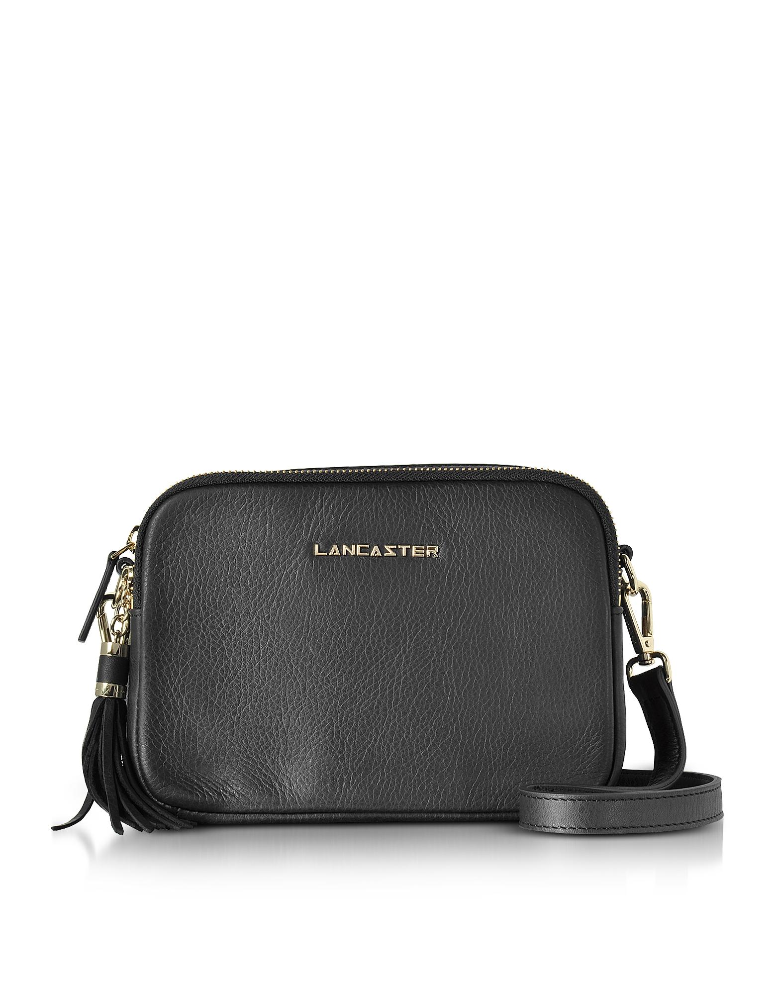 Lancaster Paris Handbags, Mademoiselle Ana Grained Leather Crossbody Bag