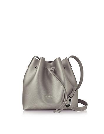 Lancaster Paris - Pur & Element Bronze Saffiano Leather Mini Bucket Bag
