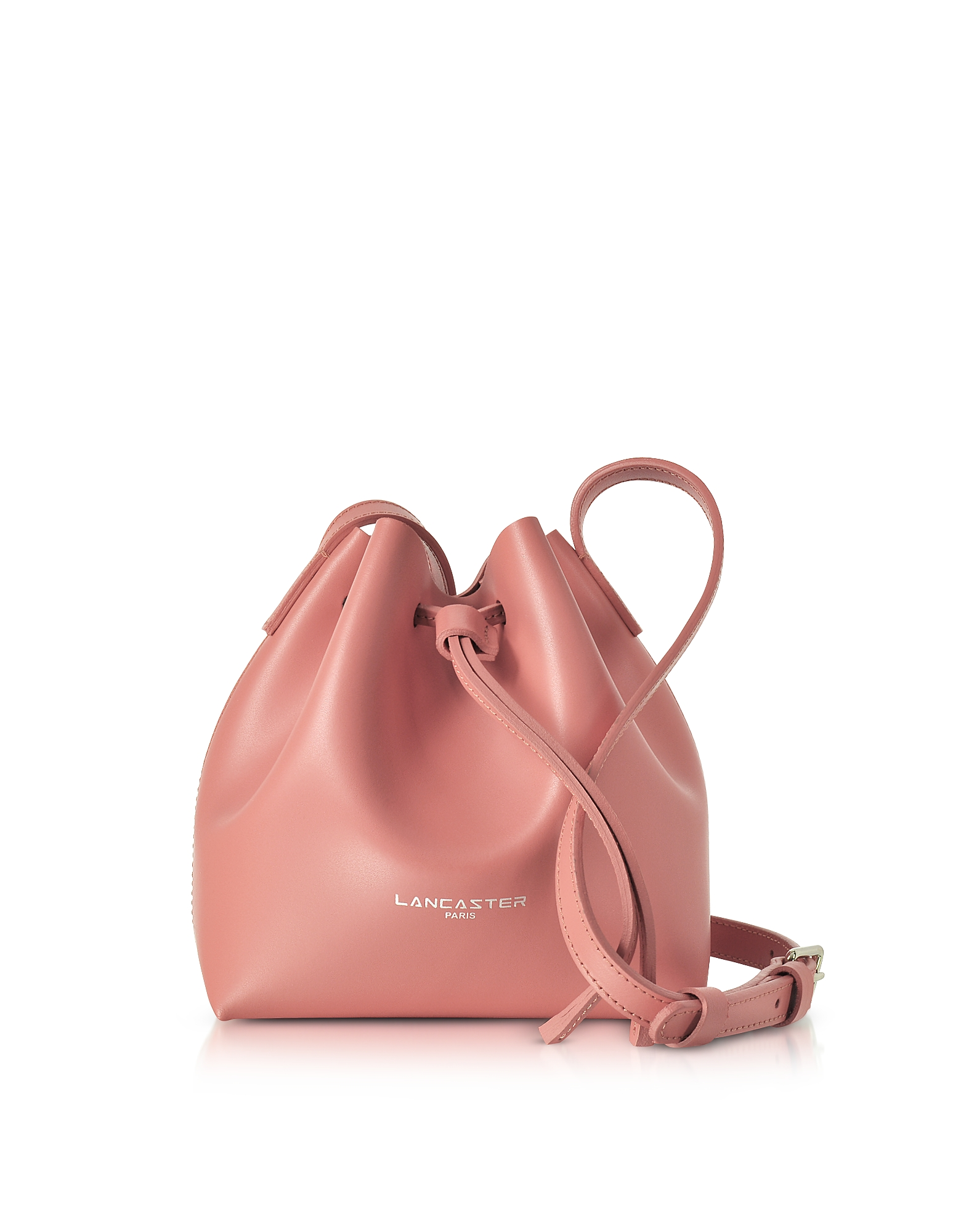 Lancaster Paris Handbags, Pur & Element Smooth Leather Mini Bucket Bag
