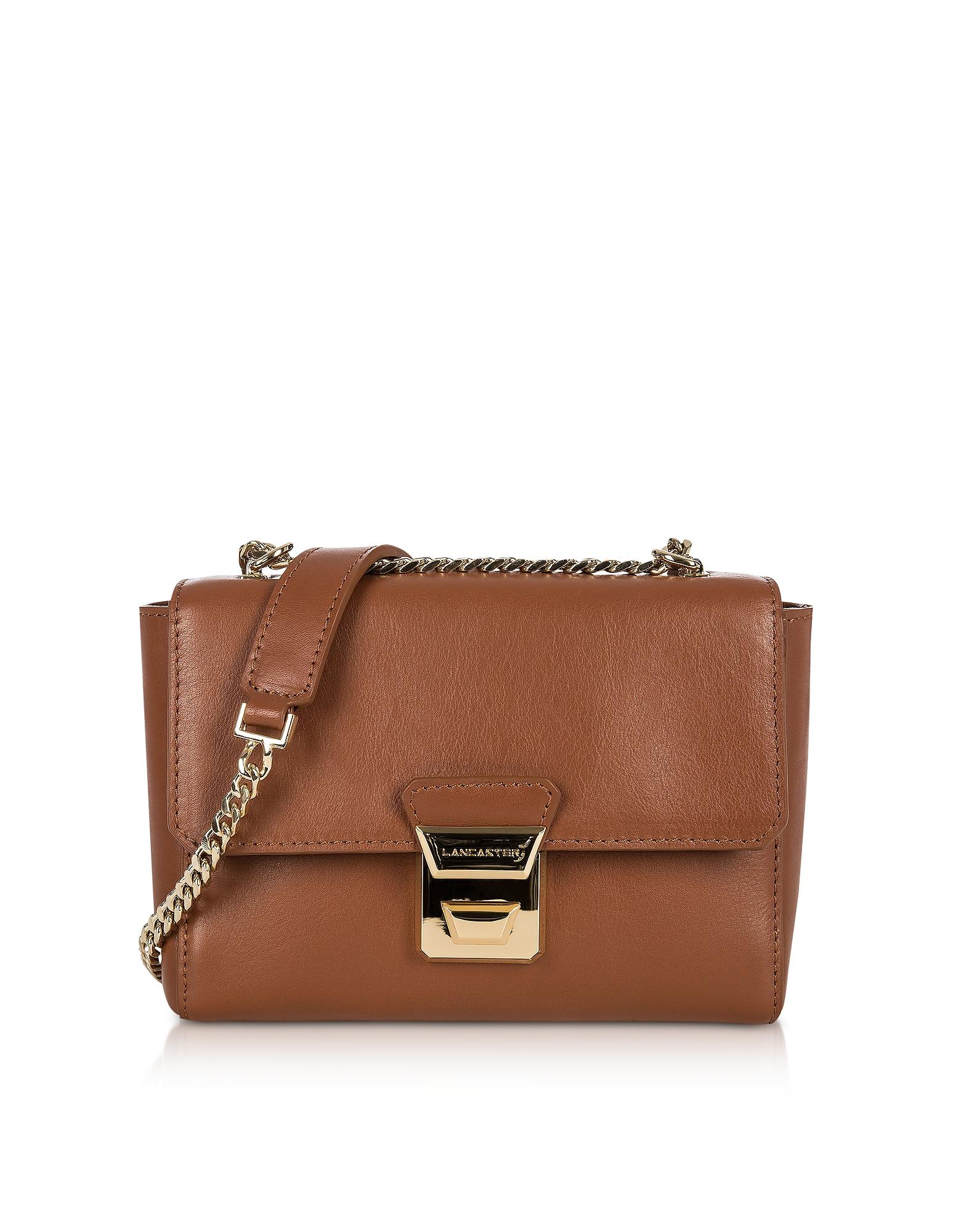 Lancaster Paris Handbags, Gena Or Leather Small Crossbody Bag