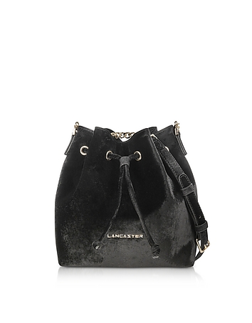 Velvet Small Bucket Bag ls130418-034-00