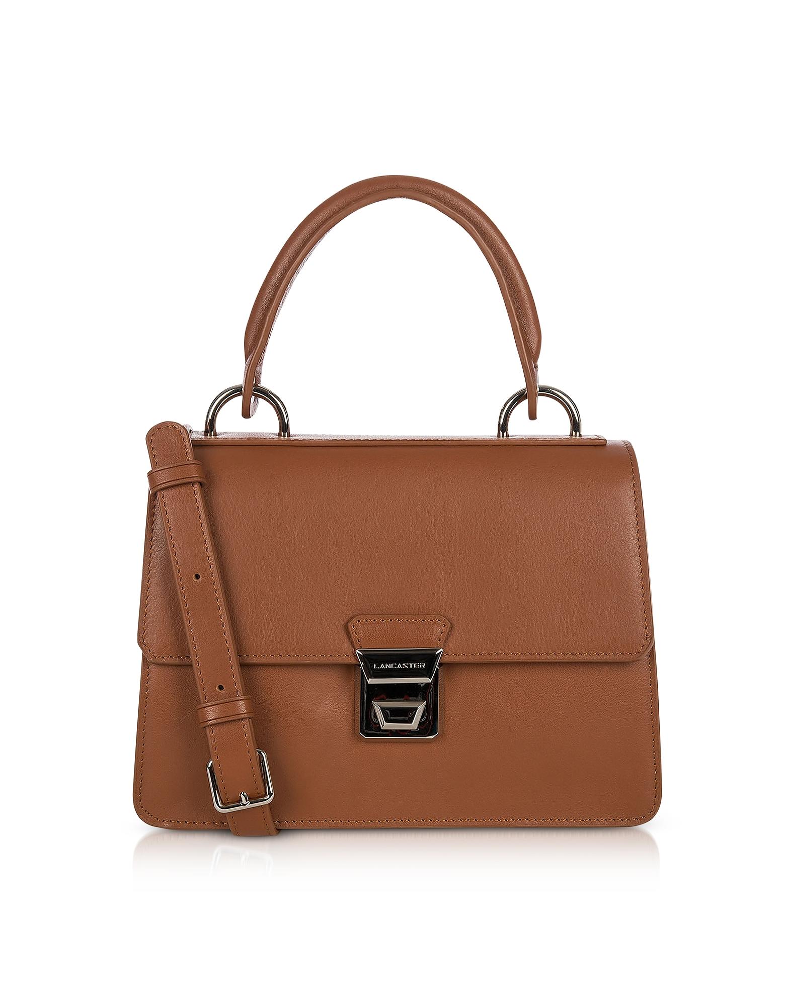 Lancaster Paris Handbags, Garance Leather Top Handle Shoulder Bag