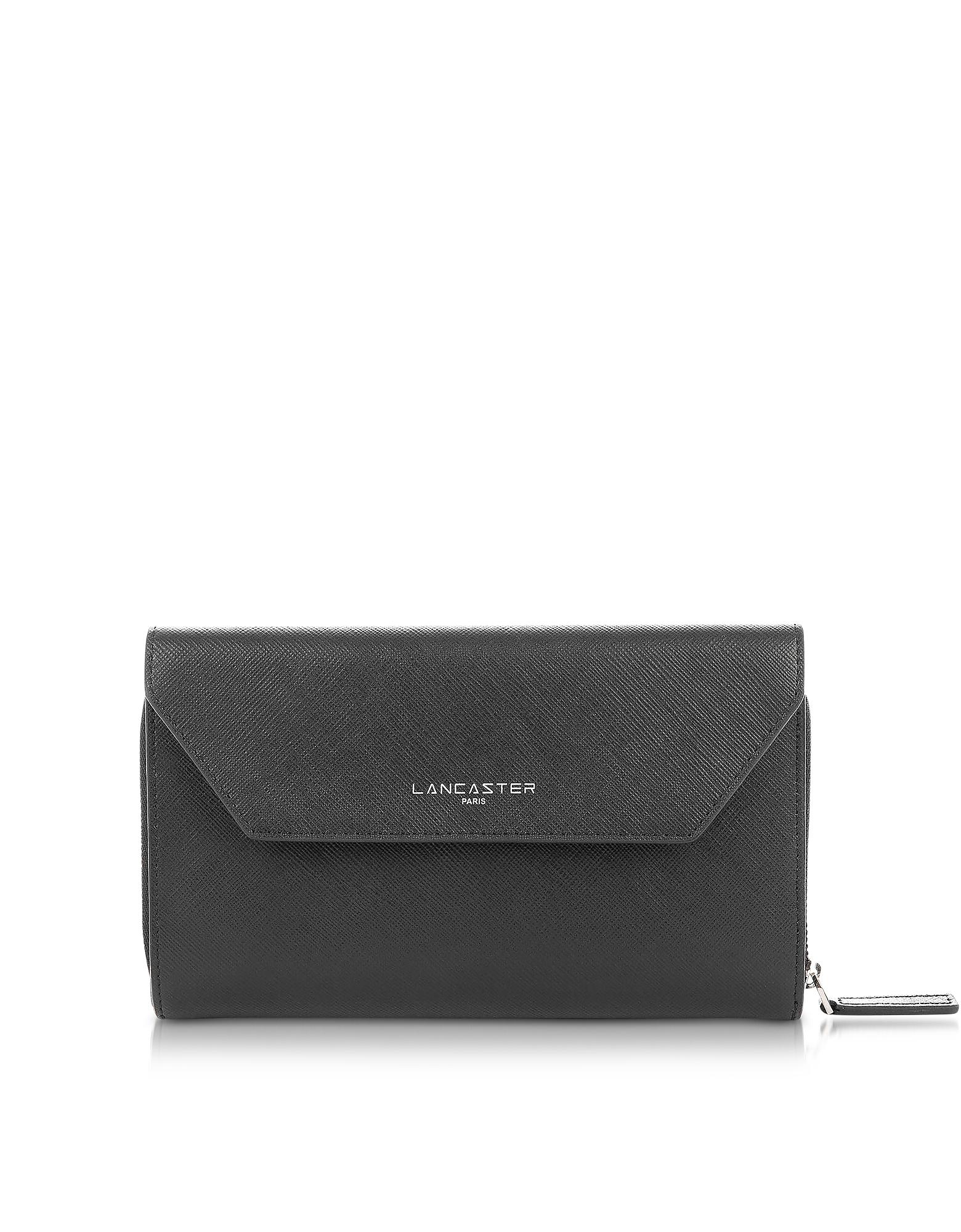 Adele Black Continental Wallet