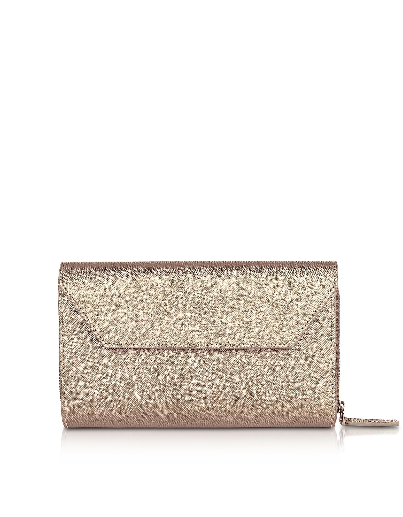 Lancaster Paris Handbags, Adele Leather Continental Wallet