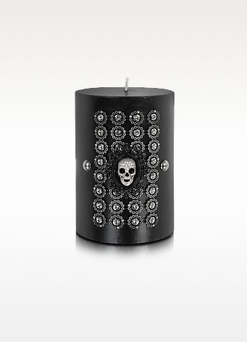 Royal Court - Skull Crest Wax Candle - Lisa Carrier Designs