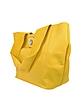 Nina - Twist Lock Leather Tote Bag - Luana
