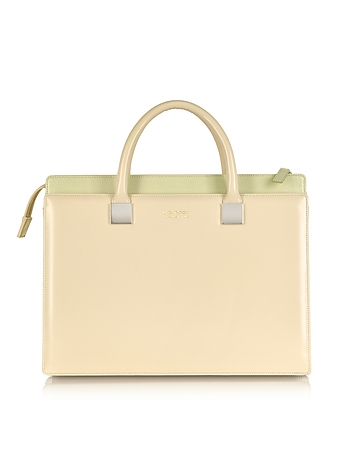 Linda Farrow - Anniversary Ayers and Leather Tote