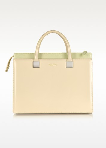 Anniversary Ayers and Leather Tote - Linda Farrow