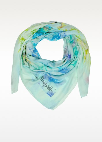 Multicolor Print Modal Wrap - Laura Biagiotti