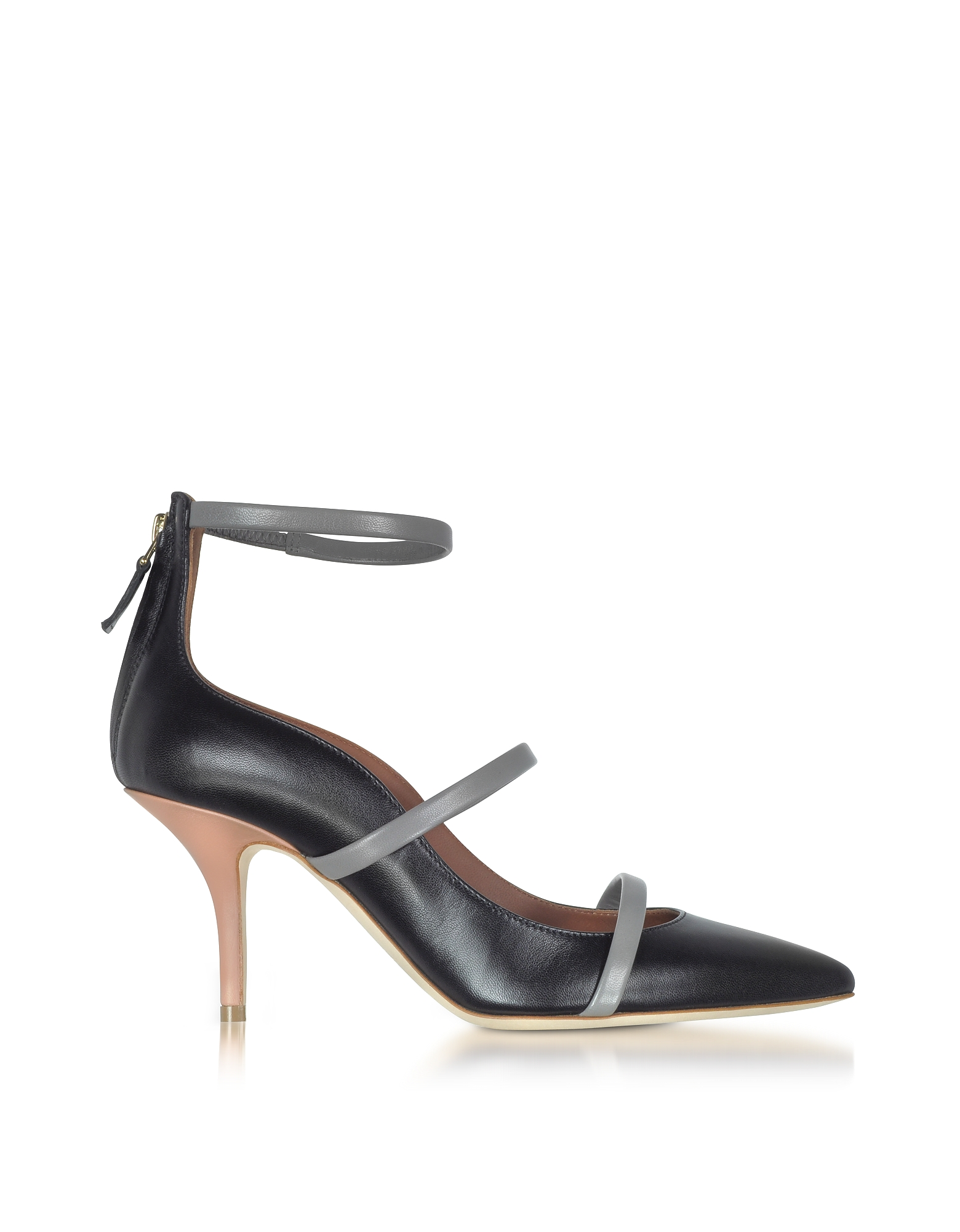 Malone Souliers Shoes, Color Block Nappa Leather Robyn Pumps