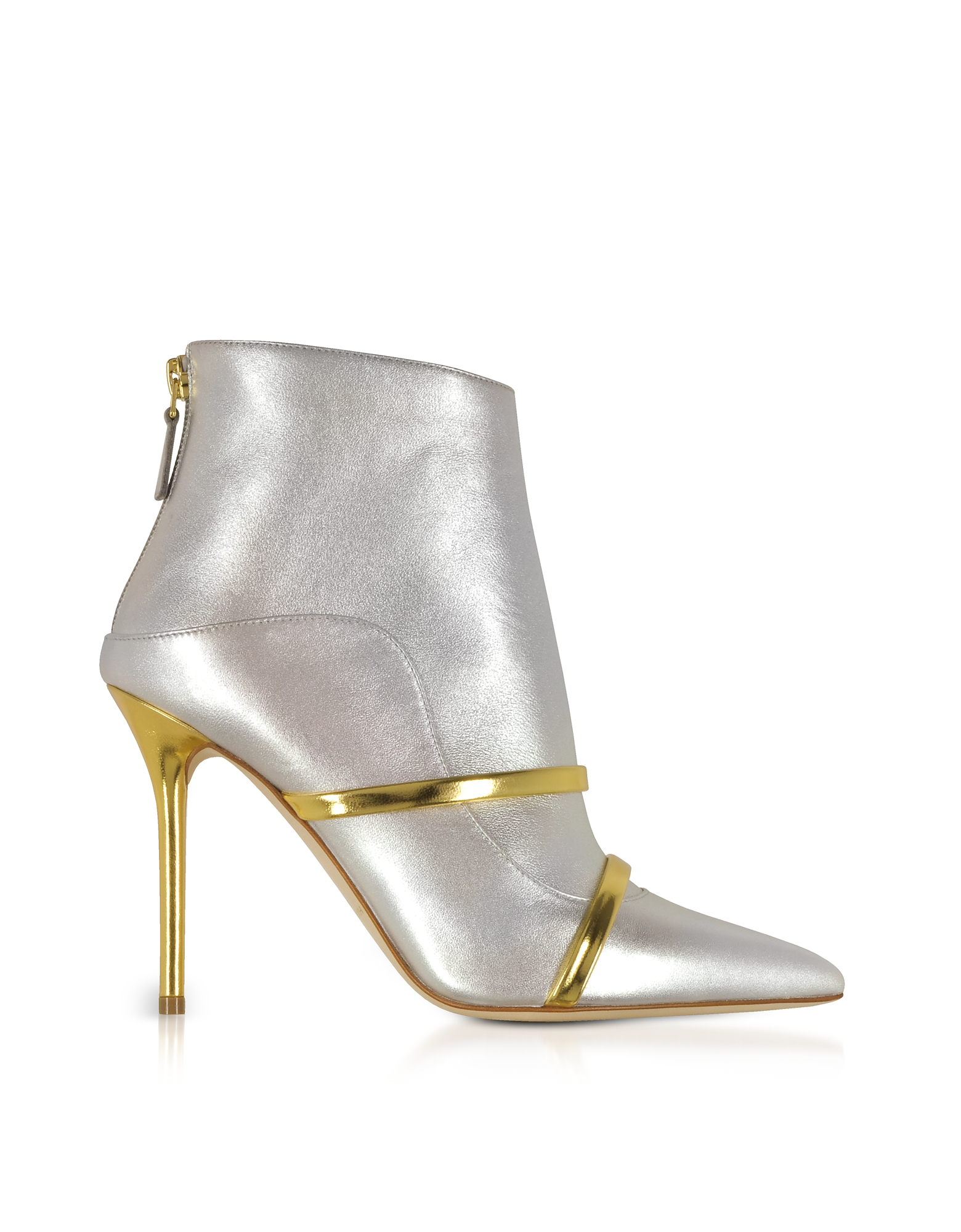 Malone Souliers by Roy Luwolt Shoes, Madison 100 Metallic Nappa Leather Boots