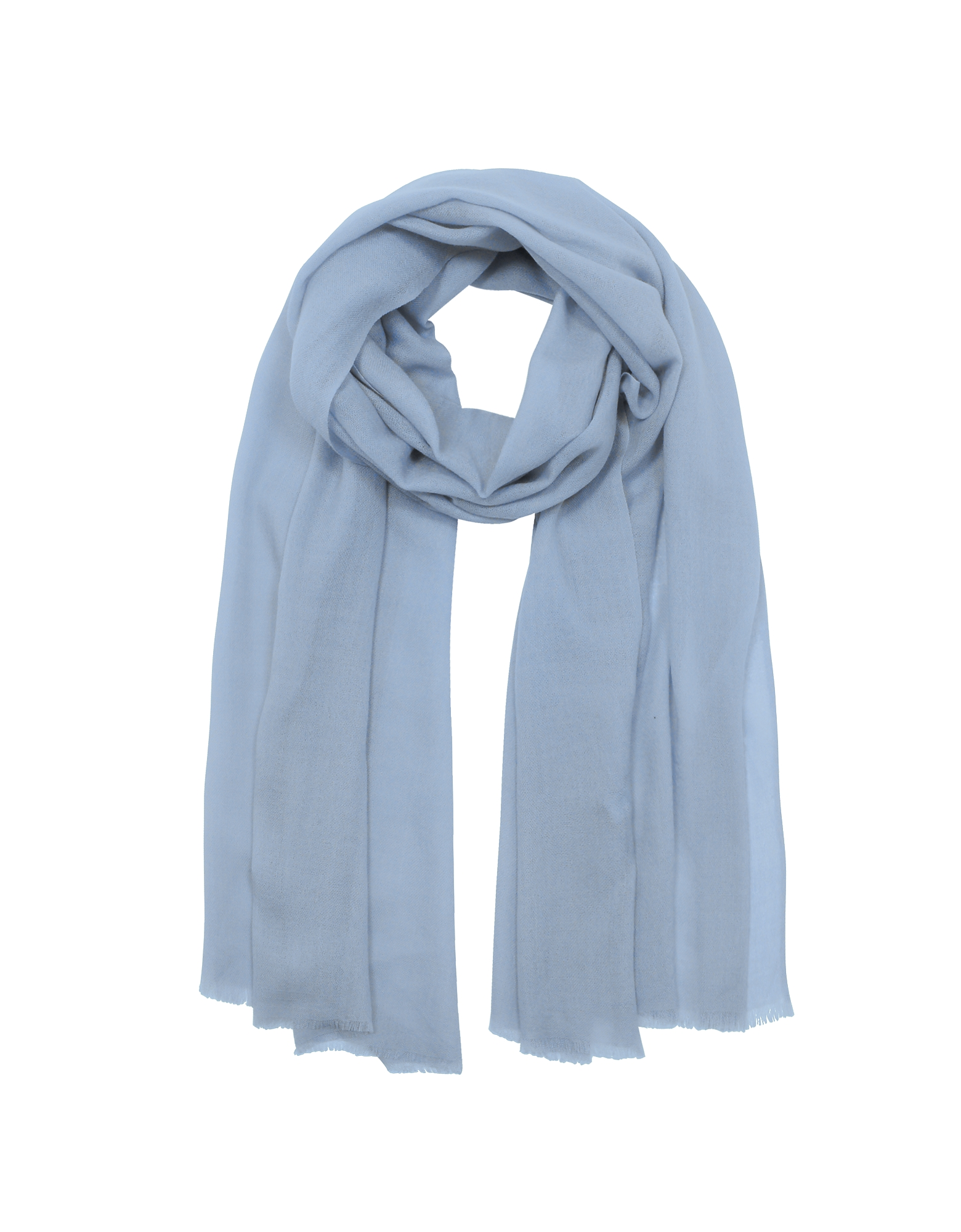 Solid Wool & Cashmere Pashmina