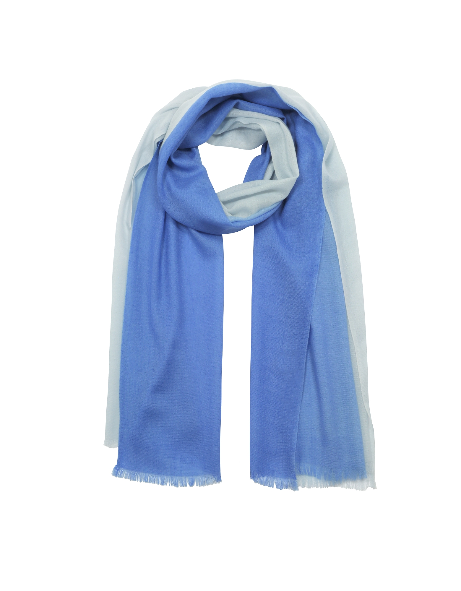 Gradient Wool & Cashmere Pashmina