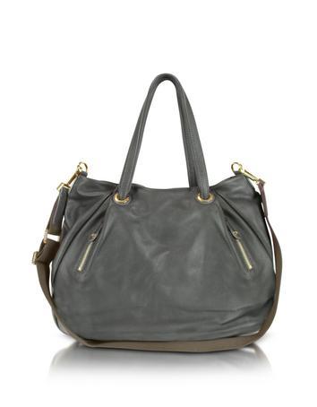 Moreschi Leather Satchel Bag