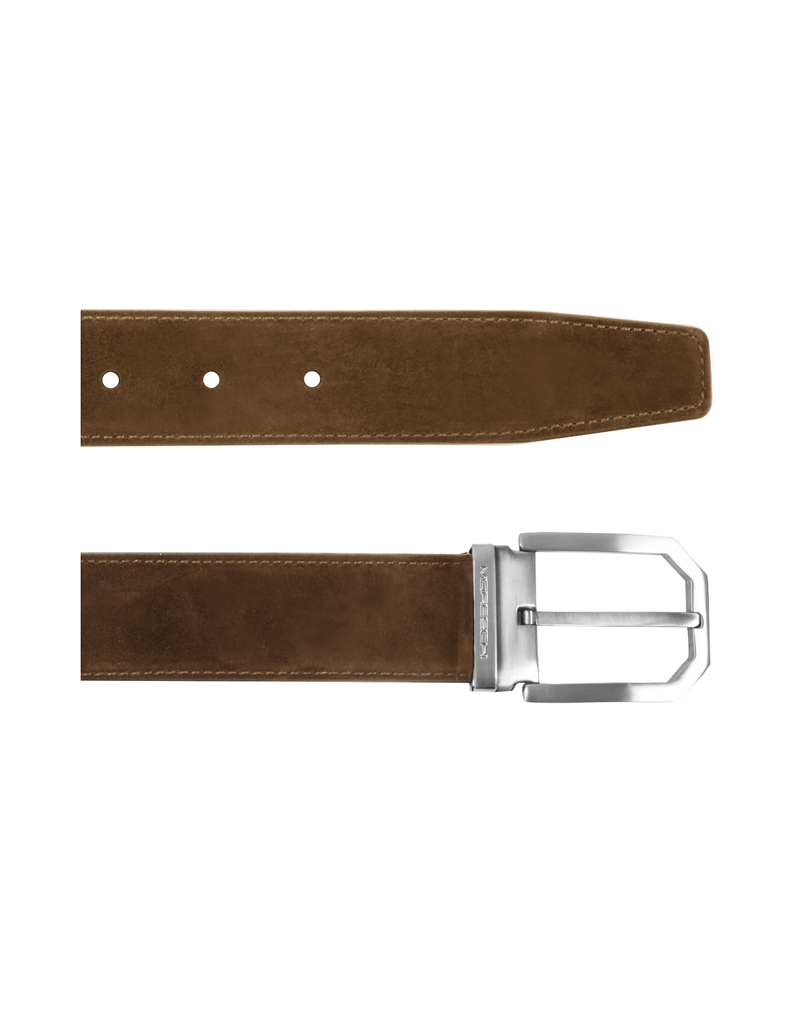 Monterey Brown Suede Belt от Forzieri.com INT