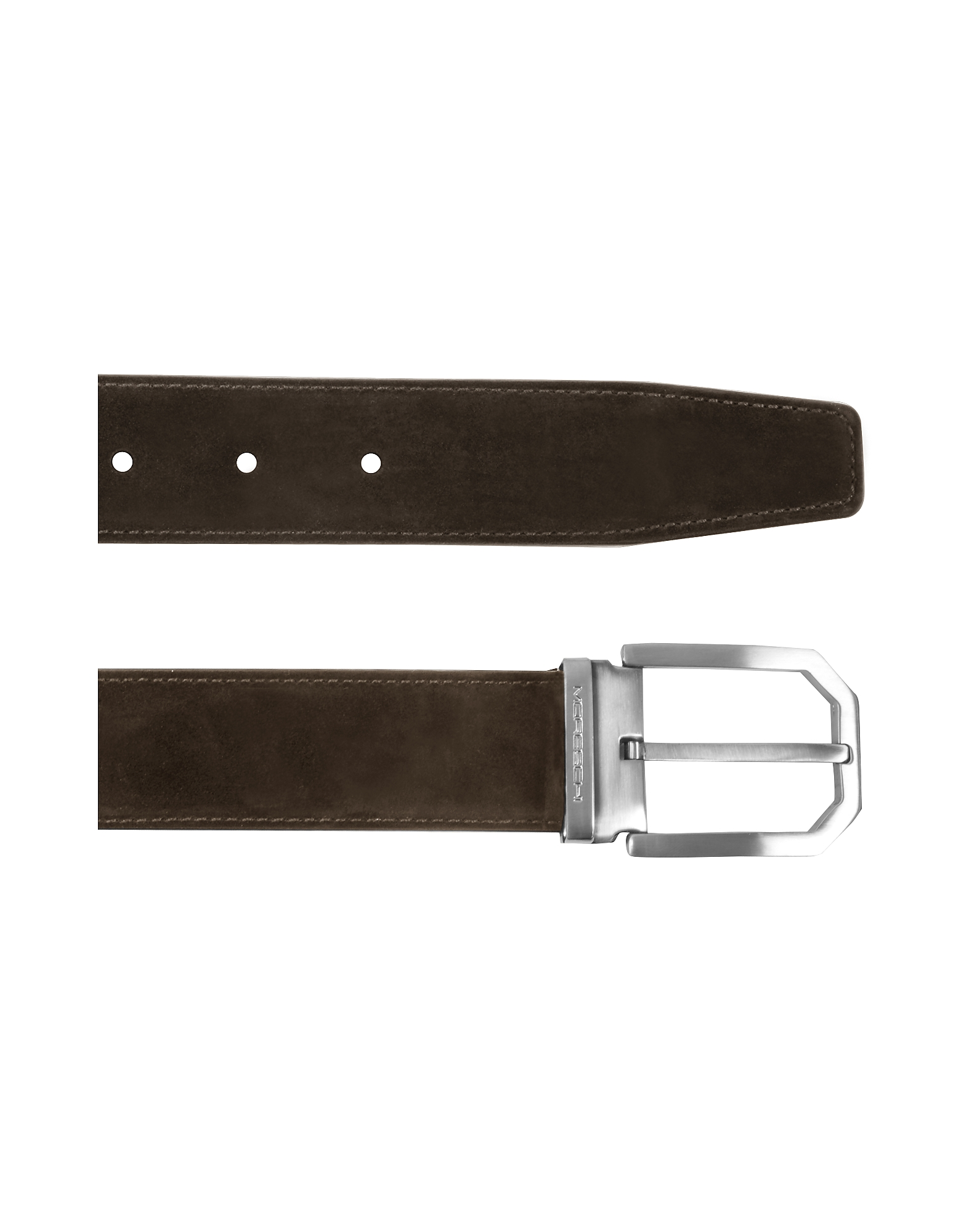 Monterey Dark Brown Suede Belt от Forzieri.com INT