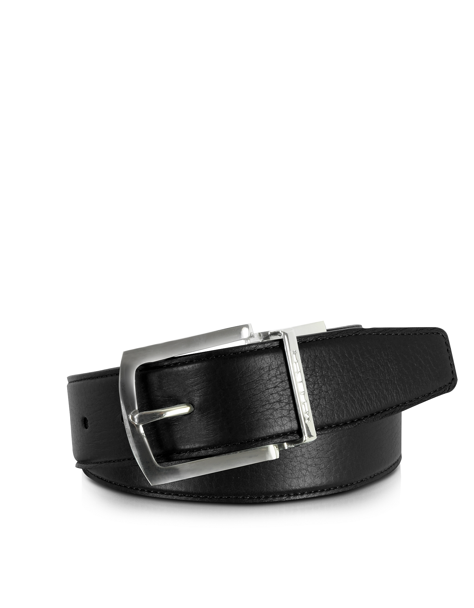 Moreschi Men's Belts, Orlando Black/Brown Reversible Leather Belt