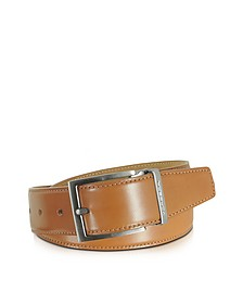 Eton Tan Leather Belt  - Moreschi