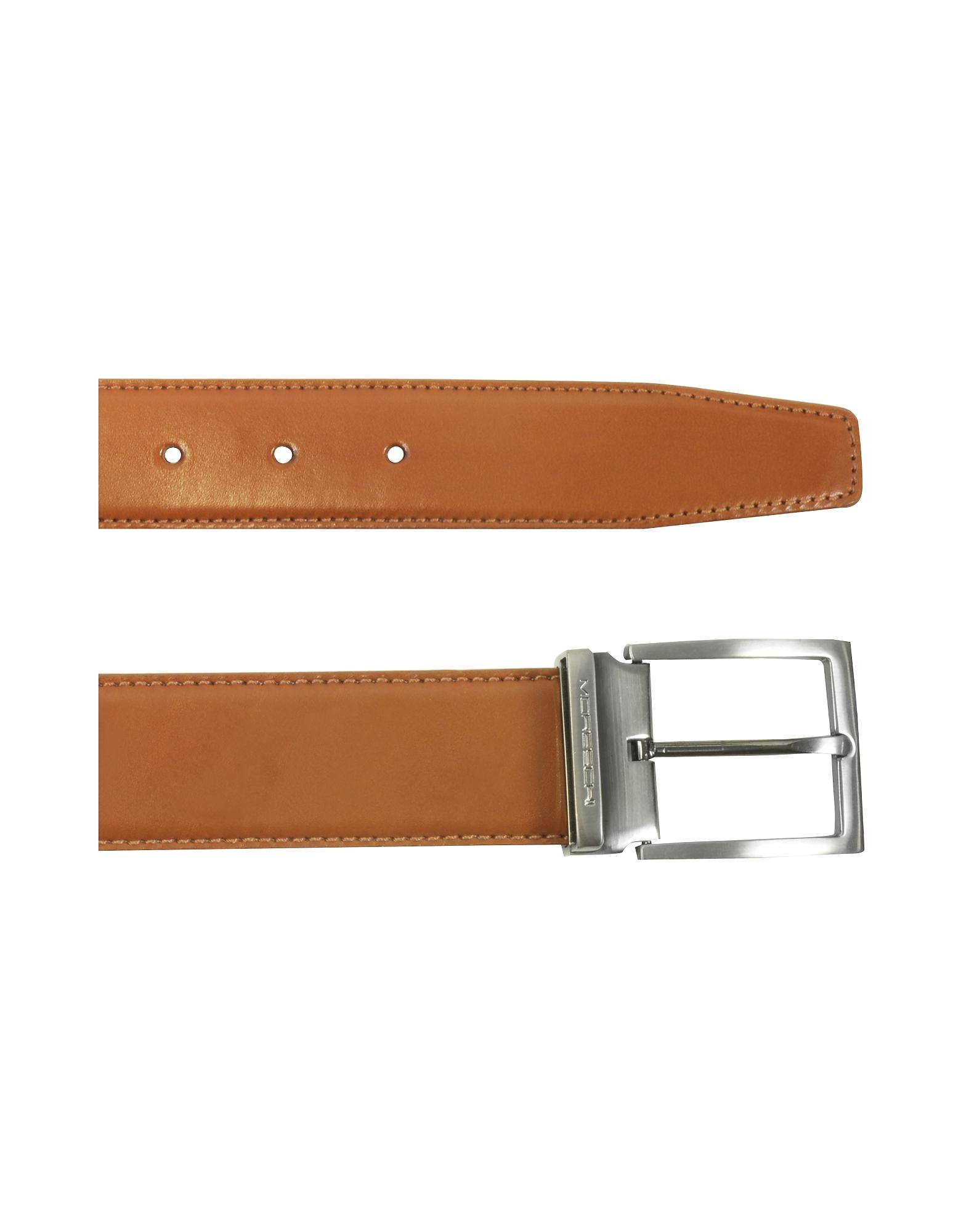 Eton Tan Leather Belt от Forzieri.com INT