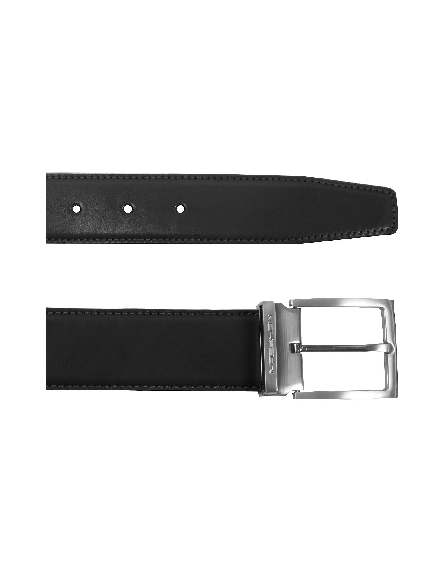 Eton Black Leather Belt от Forzieri.com INT