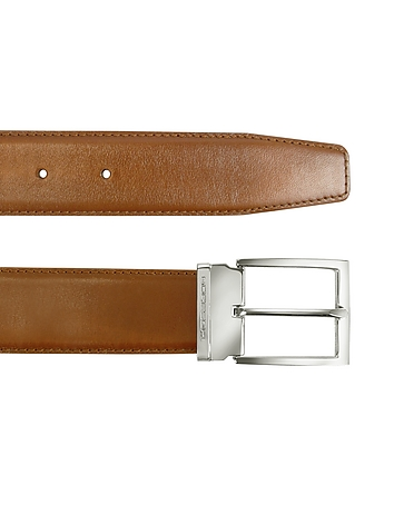 York - Tan Calf Leather Belt