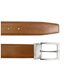 York - Tan Calf Leather Belt - Moreschi