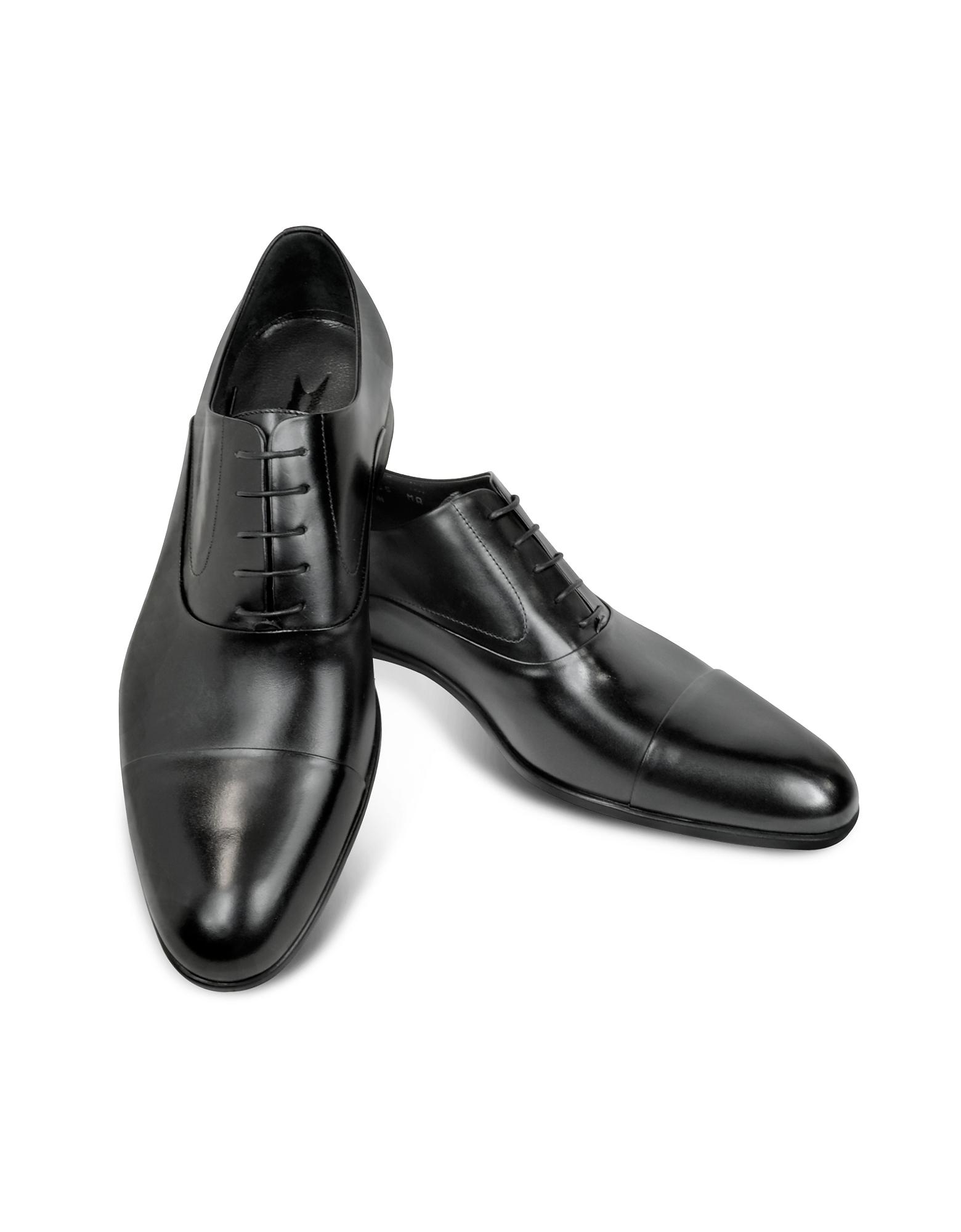 Dublin - Черные Кожаные Туфли Дерби
