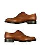 Londra - Tan Calfskin Cap Toe Oxford Shoes - Moreschi