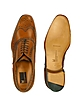 Oxford - Tan Calfskin Wingtip Shoes - Moreschi