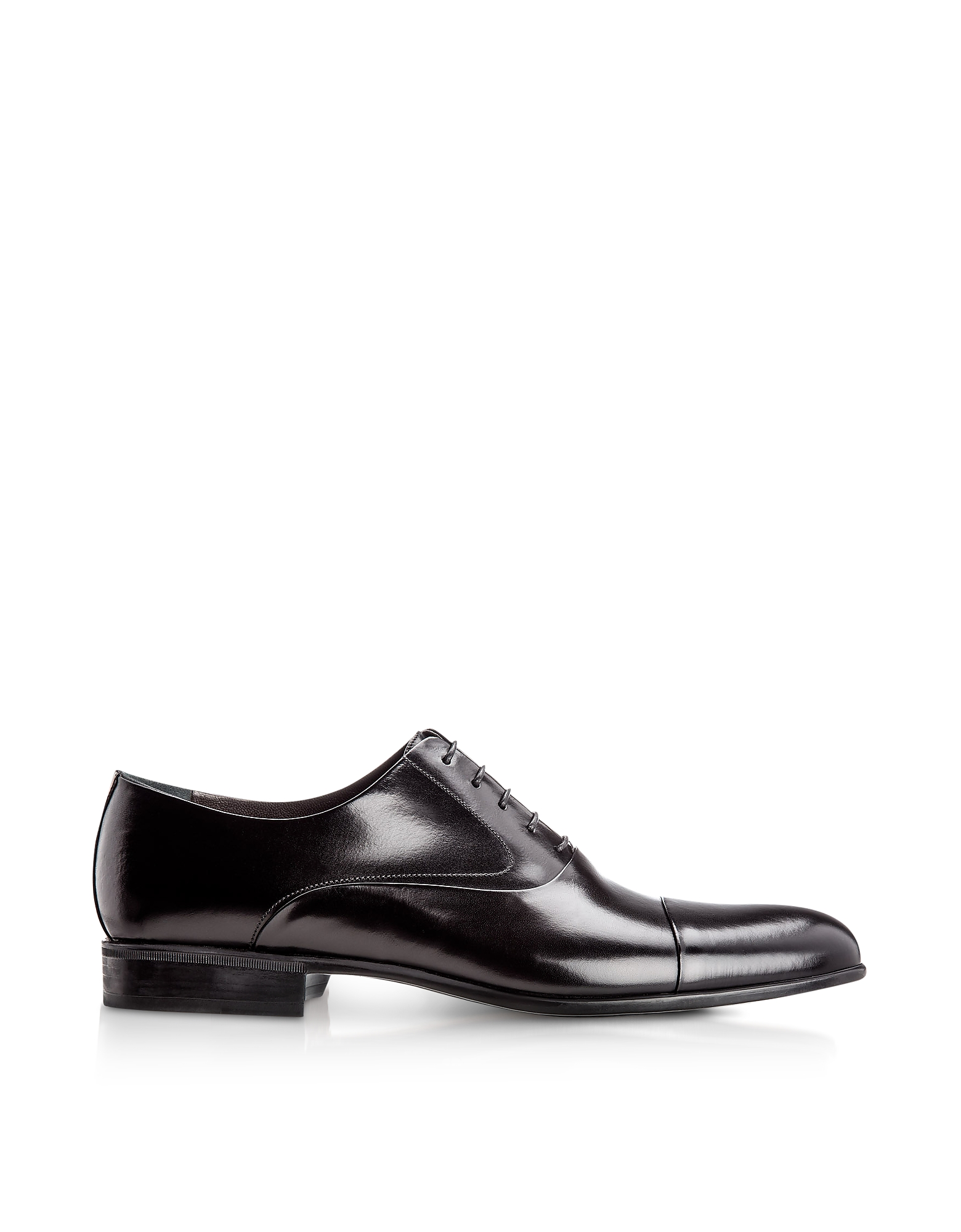 Dublin Black Calfskin Oxford Shoes
