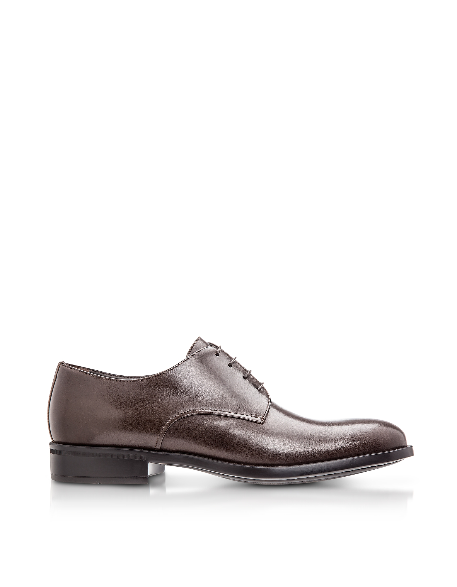 Moreschi Shoes, Cork Brown M Buffalo Leather Derby Shoes