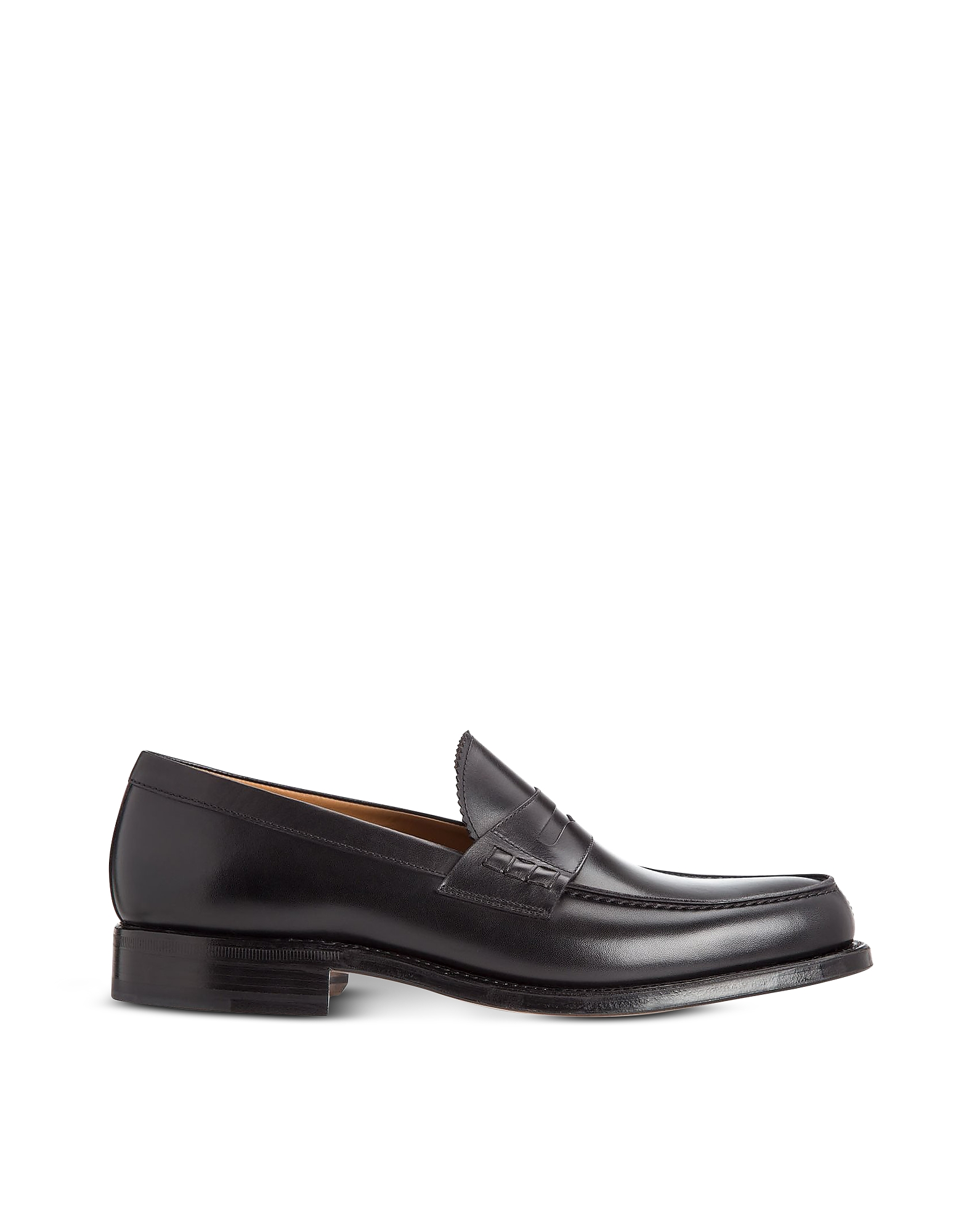Moreschi Designer Shoes, Coventry Soft Calfskin Leather Loafers with Goodyear Sole