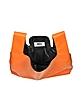 Pumpkin Orange Eco Leather Tote - MM6 Maison Martin Margiela