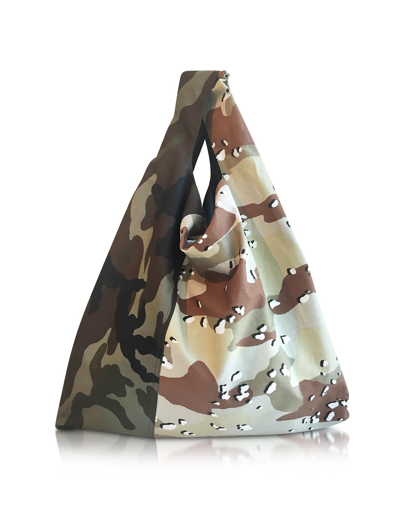 Фото Market Bag - Сумка из Камуфляжной Ткани. Купить с доставкой