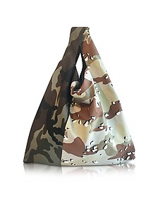Camouflage Canvas Market Bag - MM6 Maison Martin Margiela