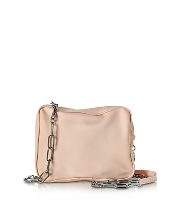 MM6 Maison Martin Margiela - Powder Pink Leather Shoulder Bag