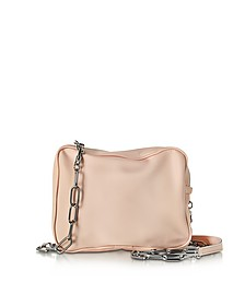 Powder Pink Leather Shoulder Bag - MM6 Maison Martin Margiela