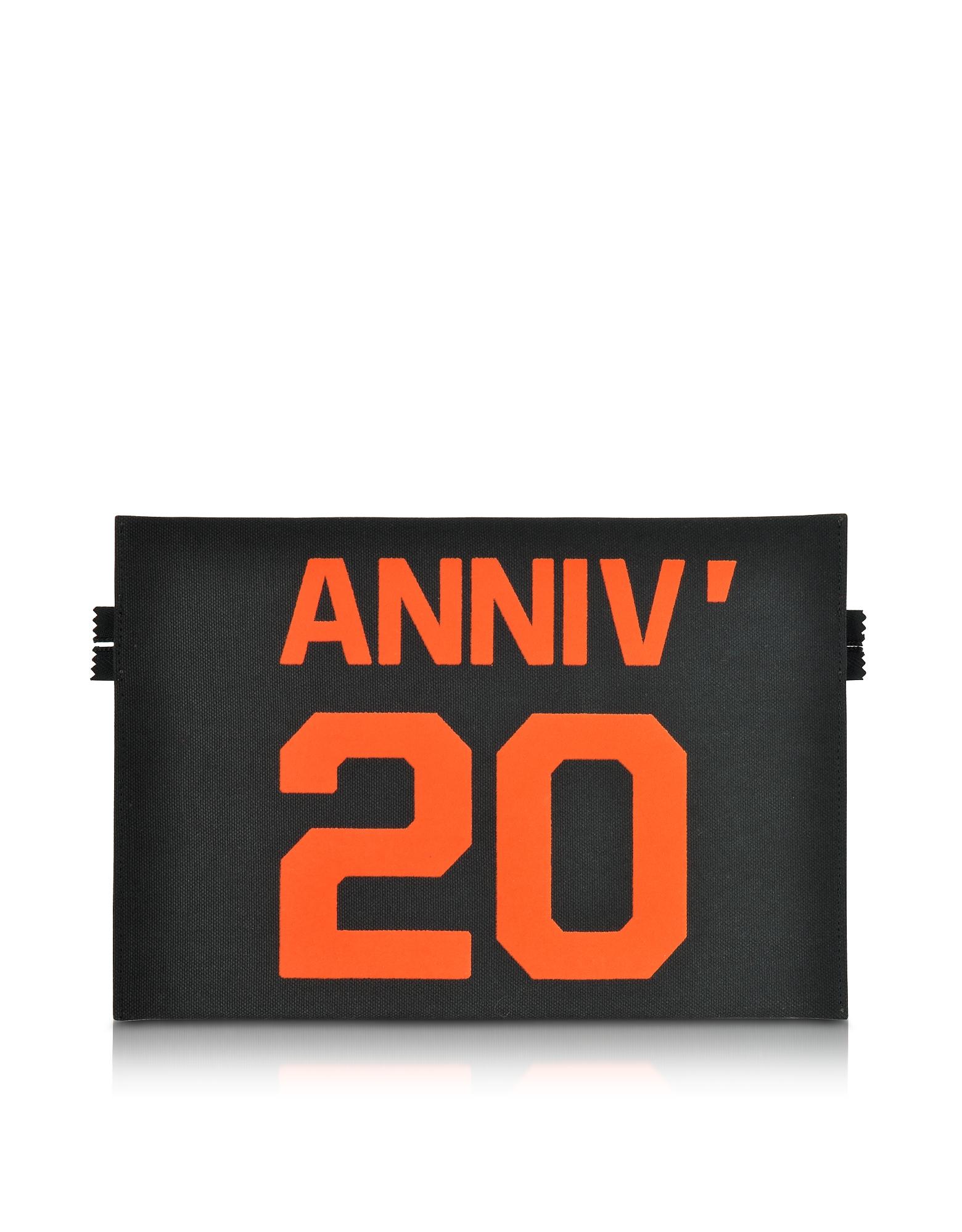 Anniversary 20 - Плоский Клатч из Ткани