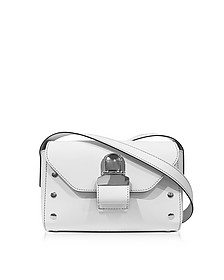 White Leather Shoulder Bag - MM6 Maison Martin Margiela