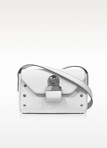 White Leather Shoulder Bag - MM6 Maison Martin Margiela