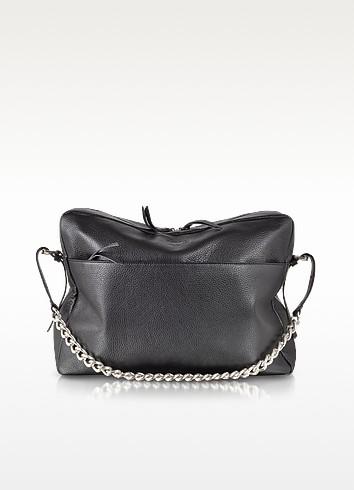 Black Leather Backpack - MM6 Maison Martin Margiela