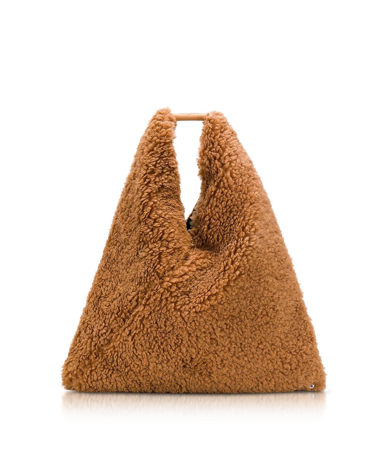 Japanese Faux Fur Tote Bag