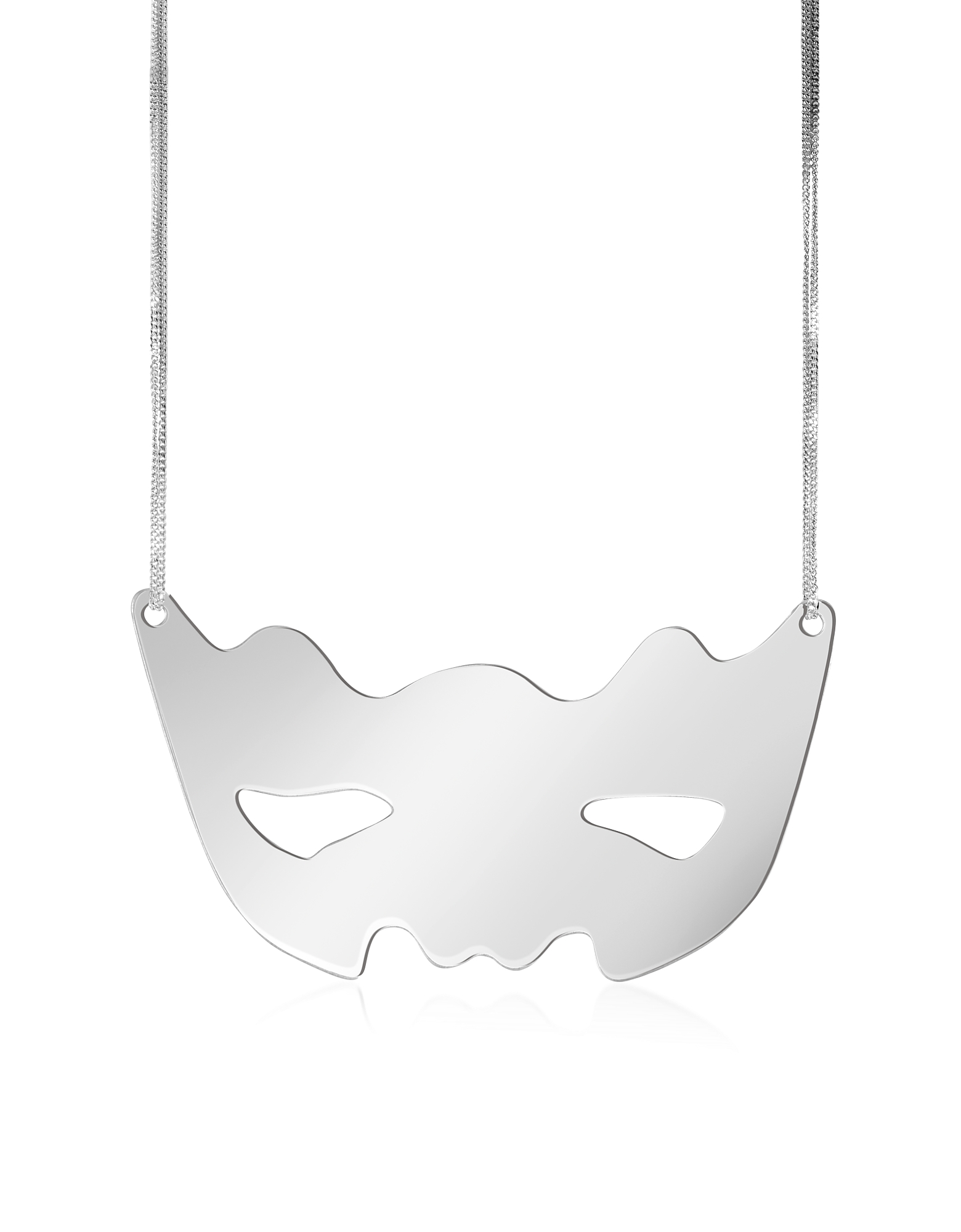 MM6 Maison Martin Margiela Necklaces, Mirror Mask Necklace